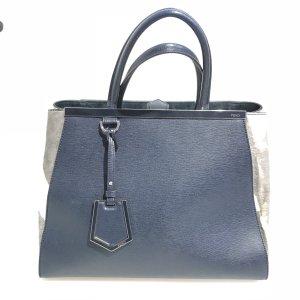 Dark Blue Fendi Shoulder Bag