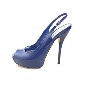 Dark Blue Gucci High Heel