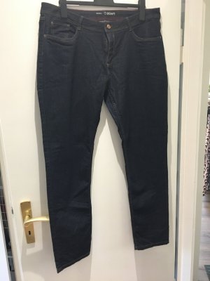 Dark Blue Jeans skinny legs