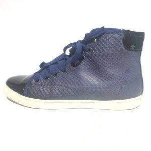 Dark Blue Lanvin Sneaker