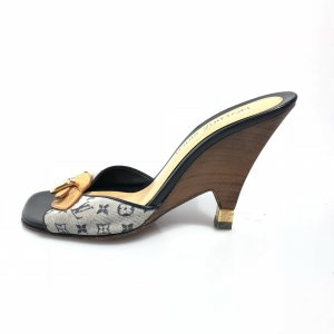 Louis Vuitton Sandalen donkerblauw