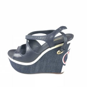 Dark Blue Louis Vuitton Sandal