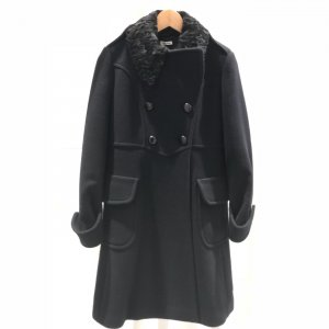 Dark Blue Miu Miu Coat