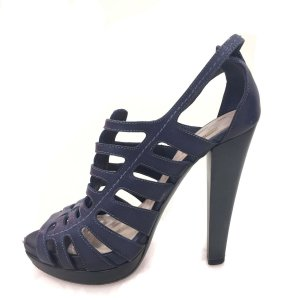 Dark Blue Miu Miu High Heel