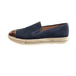Dark Blue Miu Miu Sneaker