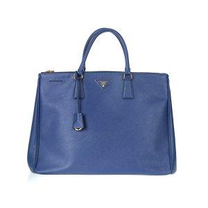 Dark Blue Prada Shoulder Bag