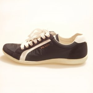 Dark Blue Prada Sneaker