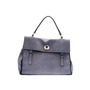 Dark Blue Saint Laurent Shoulder Bag