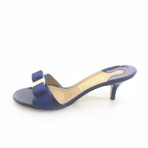 Dark Blue Salvatore Ferragamo Flip Flop