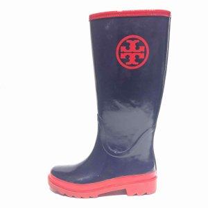 Dark Blue Tory Burch Rain & Snow Boot