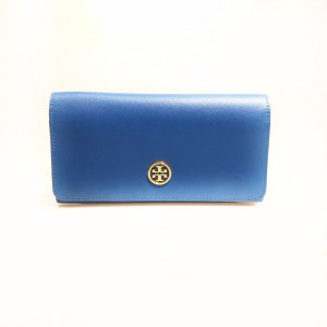 Dark Blue Tory Burch Wallet