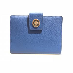 Dark Blue Tory Burch Wallet