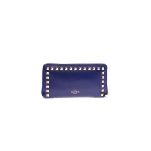 Dark Blue Valentino Wallet