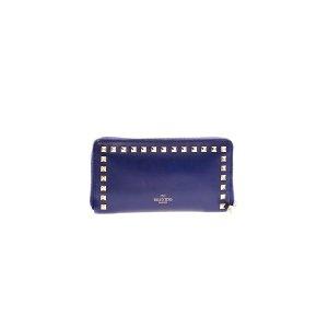 Dark Blue Valentino Wallet