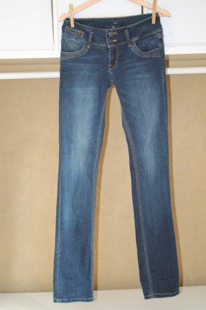 LTB Low Rise Jeans dark blue mixture fibre