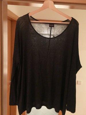 Dark grey (almost black) oversized long sleeve shirt