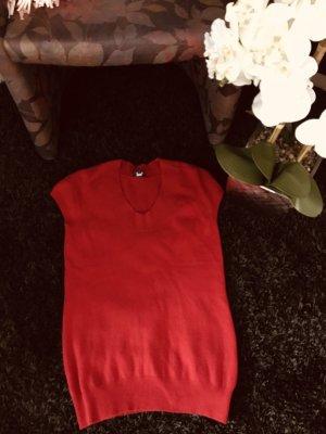 Darling Harbour Boatneck Shirt dark red