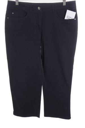 Darling Harbour Pantalon 3/4 bleu foncé style décontracté