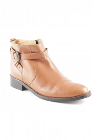 Darling Harbour Ankle Boots cognac-coloured-dark brown casual look