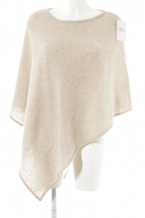 Darling Harbour Cape cream weave pattern casual look