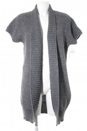 Darling Harbour Cardigan grau-graublau meliert Casual-Look