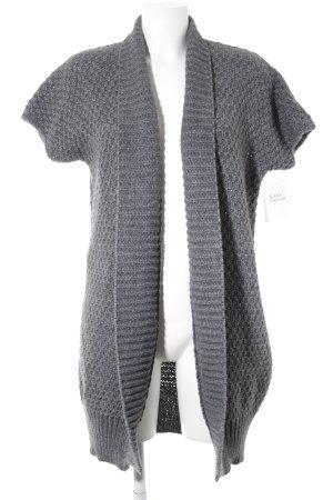 Darling Harbour Cardigan grau-graublau meliert Casual-Look
