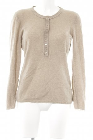 Darling Harbour Cashmerepullover beige Kuschel-Optik