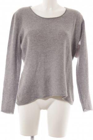 Darling Harbour Cashmerepullover grau meliert Casual-Look