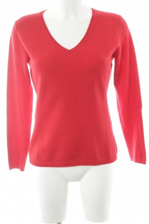 Darling Harbour Cashmerepullover rot Casual-Look
