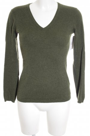 Darling Harbour Cashmerepullover waldgrün Casual-Look