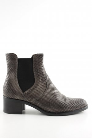 Darling Harbour Chelsea Boot brun motif animal style décontracté