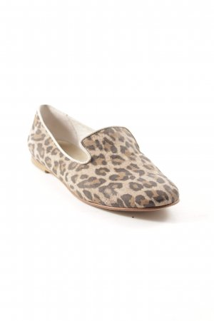 Darling Harbour Bailarinas plegables estampado de leopardo look casual