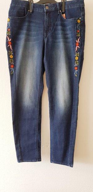 Darling Harbour Skinny Jeans steel blue
