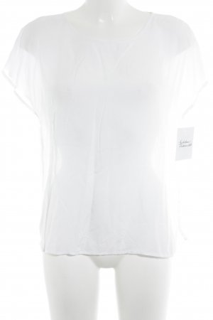 Darling Harbour Short Sleeved Blouse white casual look