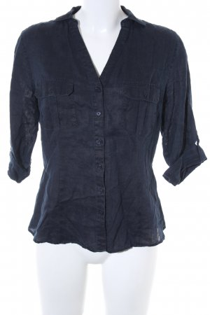 Darling Harbour Short Sleeve Shirt dark blue business style