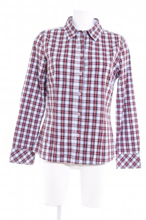 Darling Harbour Langarmhemd Karomuster schlichter Stil