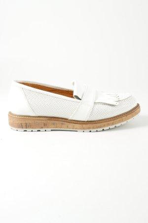 Darling Harbour Scarpa monk strap bianco-marrone stile casual