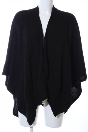 Darling Harbour Poncho black casual look