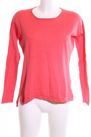Darling Harbour Rundhalspullover rot Casual-Look