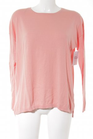 Darling Harbour Rundhalspullover apricot Casual-Look