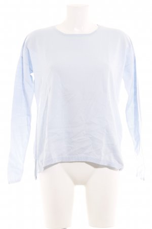Darling Harbour Rundhalspullover himmelblau Casual-Look