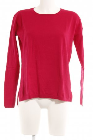 Darling Harbour Rundhalspullover magenta Casual-Look