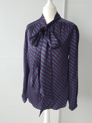 Darling Harbour Tie-neck Blouse multicolored viscose