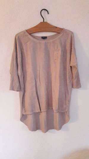Darling Harbour Shirt Highlow Vokuhila Used Look Nude Taupe Greige M