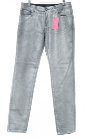 Darling Harbour Skinny Jeans silberfarben Casual-Look