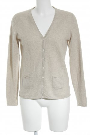 Darling Harbour Strickjacke creme Casual-Look