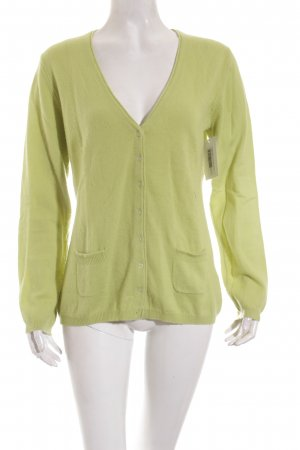 Darling Harbour Strickjacke neongrün Casual-Look