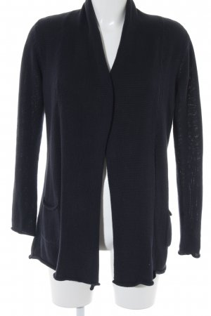 Darling Harbour Strickmantel dunkelblau Casual-Look