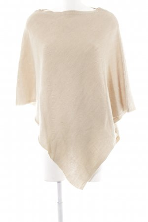 Darling Harbour Strickponcho hellbeige Casual-Look