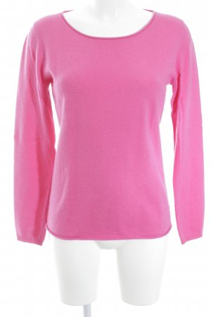 Darling Harbour Strickpullover pink meliert Casual-Look